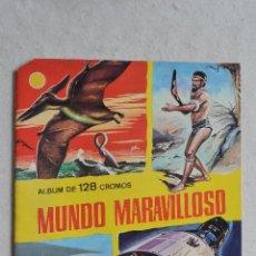 Coleccionismo Álbumes: ALBUM PLANCHA VACIO MUNDO MARAVILLOSO. Lote 42437088