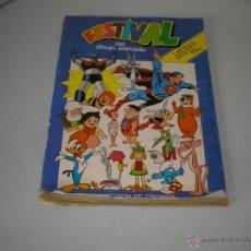 Coleccionismo Álbumes: FESTIVAL DEL DIBUJO ANIMADO. Lote 42475297