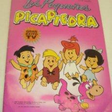 Coleccionismo Álbumes: ALBUM CROMOS LOS PEQUEÑOS PICAPIEDRA DE COMIC-ROMO 1988 CON 126 CROMOS. Lote 42561358