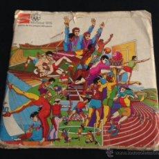 Coleccionismo Álbumes: ALBUM DE CROMOS TAPON DE BOTELLA COCA-COLA MONTREAL 1976 HISTORIA DE LOS JUEGOS OLIMPICOS. Lote 42613814