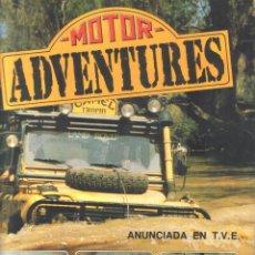 Coleccionismo Álbumes: .1 ALBUM DE ** - MOTOR - ADVENTURE ** DE PANINI - AÑO 1987 - FALTAN 14 DE LOS 216 CROMOS . Lote 42769933