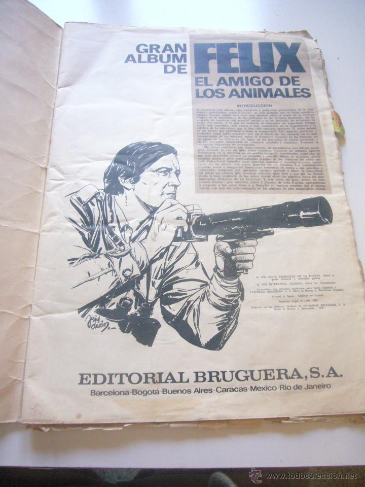 Coleccionismo Álbumes: GRAN ALBUM FÉLIX RODRÍGUEZ DE LA FUENTE EL AMIGO DE LOS ANIMALES CON 305 DE 400 CROMOS BRUGUERA dar - Foto 13 - 43120784