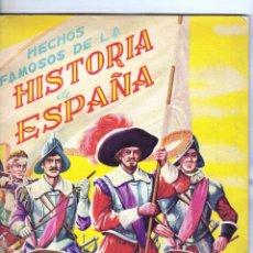 Coleccionismo Álbumes: ÁLBUM VACIO. HECHOS FAMOSOS DE LA HISTORIA DE ESPAÑA. EDITORIAL FHER.. Lote 43130782
