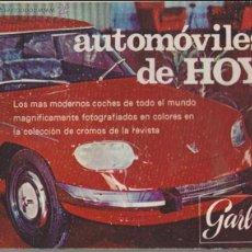 Coleccionismo Álbumes: AUTOMÓVILES DE HOY. Lote 43242494