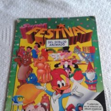 Coleccionismo Álbumes: ALBUM SUPER FESTIVAL DEL DIBUJO ANIMADO. EDICIONES ESTE 1988. Lote 43530515