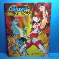 Coleccionismo Álbumes: ALBUM LOS CABALLEROS DEL ZODIACO - FALTA 4 CROMOS - PANINI 1986. Lote 43651529