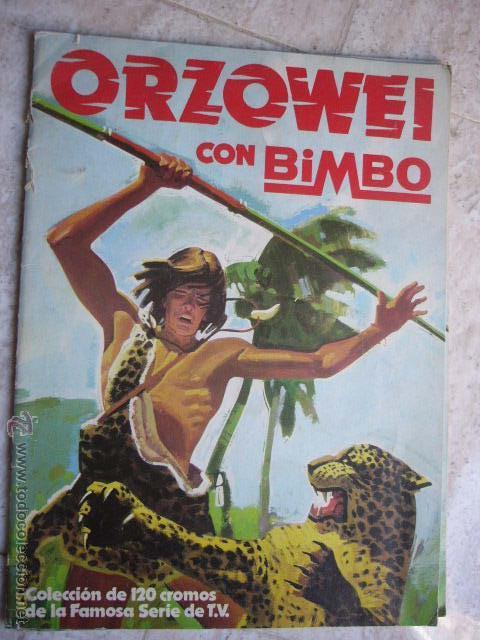 ALBUM ORZOWEI BIMBO. TIENE 16 CROMOS (Coleccionismo - Cromos y Álbumes - Álbumes Incompletos)