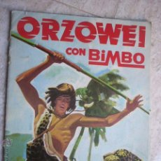 Coleccionismo Álbumes: ALBUM ORZOWEI BIMBO. TIENE 16 CROMOS. Lote 44006498
