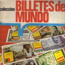 Coleccionismo Álbumes: ÁLBUM BILLETES DEL MUNDO (INCOMPLETO) - ALB5. Lote 44071604
