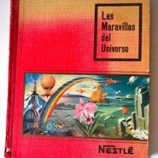 Coleccionismo Álbumes: LAS MARAVILLAS DEL UNIVERSO * 1955 * FALTA 1 CROMO * ALBUM NESTLE. Lote 44243679