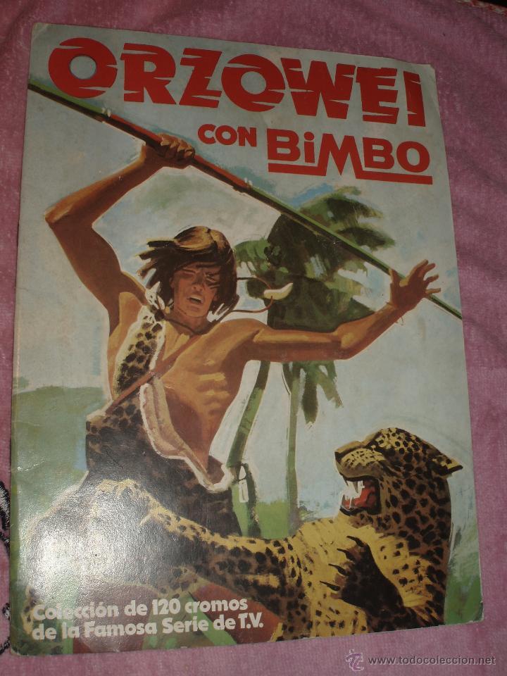 ALBUM ORZOWEI BIMBO (Coleccionismo - Cromos y Álbumes - Álbumes Incompletos)