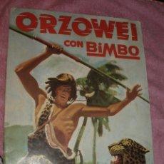 Coleccionismo Álbumes: ALBUM ORZOWEI BIMBO. Lote 44307195