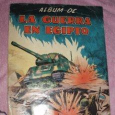 Coleccionismo Álbumes: ALBUM LA GUERRA EN EGIPTO. Lote 44317460
