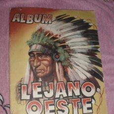 Coleccionismo Álbumes: ALBUM LEJANO OESTE EDIGESA. Lote 44317518