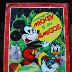 Coleccionismo Álbumes: ALBUM DE CROMOS. LAS AVENTURAS DE MICKEY Y SUS AMIGOS. FHER 1976. . Lote 44440456