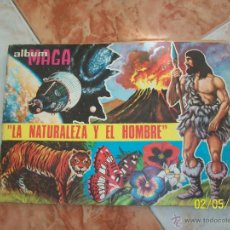 Coleccionismo Álbumes: ALBUM DE CROMOS MAGA DEL AÑO 1967. LA NATURALEZA Y EL HOMBRE.. Lote 44452747
