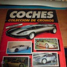 Coleccionismo Álbumes: COCHES COLECCION DE CROMOS CUSCO ED. REVISTA AUTOPISTA SOLO FALTAN 2 CROMOS BUEN ESTADO. Lote 44909048