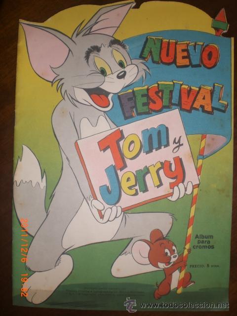 NUEVO FESTIVAL TOM Y JERRY - VACIO (Coleccionismo - Cromos y Álbumes - Álbumes Incompletos)