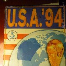 Coleccionismo Álbumes: ALBUM MUNDIAL FUTBOL USA 94 --FALTAN 82 CROMOS. Lote 45102243