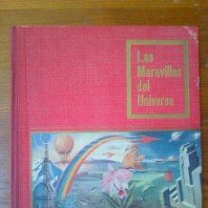 Coleccionismo Álbumes: LAS MARAVILLAS DEL UNIVERSO, DE NESTLÉ. AÑO 1956. NO ESTÁ COMPLETO. ENCUADERNACIÓN RÍGIDA. Lote 45317073