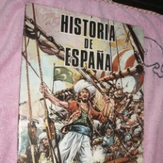 Coleccionismo Álbumes: ALBUM HISTORIA DE ESPAÑA PETRONIO,INCOMPLETO. Lote 45489474