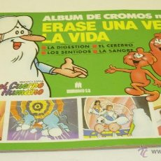 Coleccionismo Álbumes: ALBUM CROMOS Nº2 ERASE UNA VEZ...LA VIDA 1985 PROCIDIS CON 18 CROMOS. Lote 45538117
