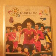 Coleccionismo Álbumes: ALBUM EURO 2012 DE PANINI, CON 255 CARTAS MÉS 4 EDICIONES ESPECIALES. Lote 45850970