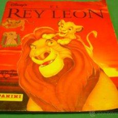 Collectable Incomplete Albums - ÁLBUM DE LA PELÍCULA DE DISNEY EL REY LEÓN. PANINI. FALTAN CROMOS - 45895773