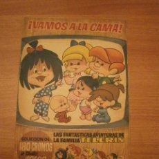Coleccionismo Álbumes: CROMOS SUELTOS DEL ALBUM VAMOS A LA CAMA DE LA FAMILIA TELERIN. Lote 45953824