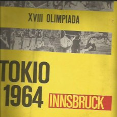 Coleccionismo Álbumes: TOKIO 1964 - INSBRUCK. Lote 46120133