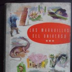 Coleccionismo Álbumes: LAS MARAVILLAS DEL UNIVERSO. III VOLUMEN. SERIES 49 A 74. CHOCOLATES NESTLE 1958. TAPA DURA EN TELA. Lote 46247053