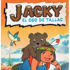 Coleccionismo Álbumes: JACKY, EL OSO DE TALLAC. ÁLBUM INCOMPLETO. FALTAN 2 CROMOS. DANONE. (ST/PN2). Lote 46399193