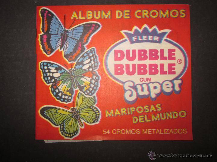 MARIPOSAS METALIZADOS - DUBBLE BUBBLE - ALBUM INCOMPLETO - (ALB-141) (Coleccionismo - Cromos y Álbumes - Álbumes Incompletos)