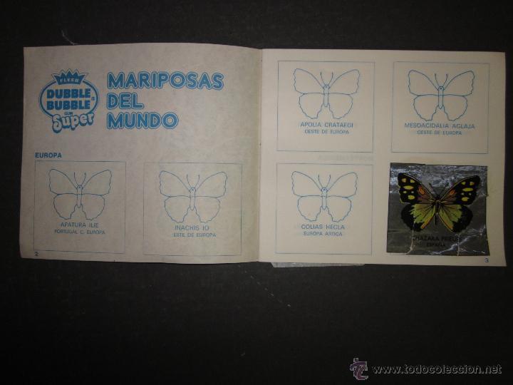 Coleccionismo Álbumes: MARIPOSAS METALIZADOS - DUBBLE BUBBLE - ALBUM INCOMPLETO - (ALB-141) - Foto 2 - 46564960