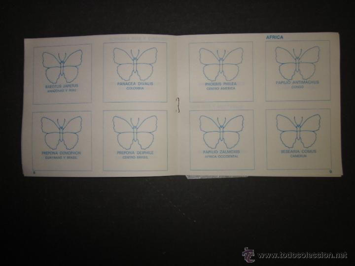 Coleccionismo Álbumes: MARIPOSAS METALIZADOS - DUBBLE BUBBLE - ALBUM INCOMPLETO - (ALB-141) - Foto 5 - 46564960