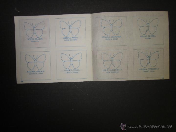 Coleccionismo Álbumes: MARIPOSAS METALIZADOS - DUBBLE BUBBLE - ALBUM INCOMPLETO - (ALB-141) - Foto 8 - 46564960