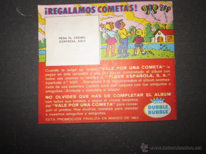 Coleccionismo Álbumes: MARIPOSAS METALIZADOS - DUBBLE BUBBLE - ALBUM INCOMPLETO - (ALB-141) - Foto 9 - 46564960