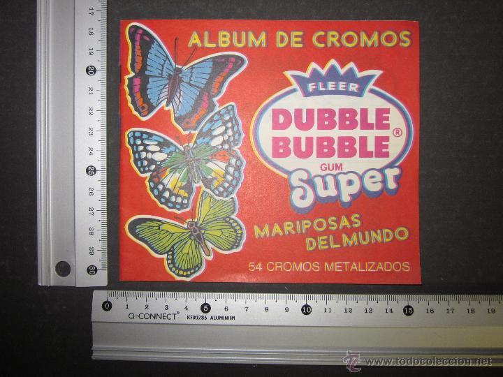 Coleccionismo Álbumes: MARIPOSAS METALIZADOS - DUBBLE BUBBLE - ALBUM INCOMPLETO - (ALB-141) - Foto 10 - 46564960