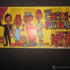 Coleccionismo Álbumes: ALBUM LOS CHIRI PAYASOS - PIPAS TOSTAVAL - ALBUM INCOMPLETO - (ALB-145). Lote 46571846