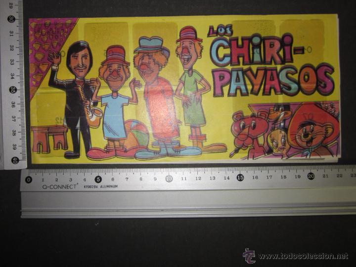 Coleccionismo Álbumes: ALBUM LOS CHIRI PAYASOS - PIPAS TOSTAVAL - ALBUM INCOMPLETO - (ALB-145) - Foto 5 - 46571846