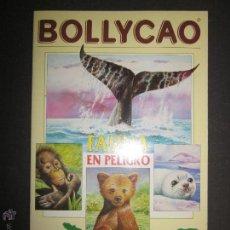 Coleccionismo Álbumes: FAUNA EN PELIGRO - BOLLYCAO - ALBUM INCOMPLETO - (ALB-164). Lote 46606944
