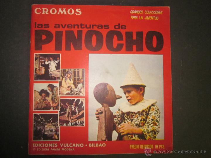 LAS AVENTURAS DE PINOCHO - EDICIONES VULCANO - ALBUM INCOMPLETO - (ALB-174) (Coleccionismo - Cromos y Álbumes - Álbumes Incompletos)