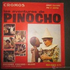 Coleccionismo Álbumes: LAS AVENTURAS DE PINOCHO - EDICIONES VULCANO - ALBUM INCOMPLETO - (ALB-174). Lote 46607247