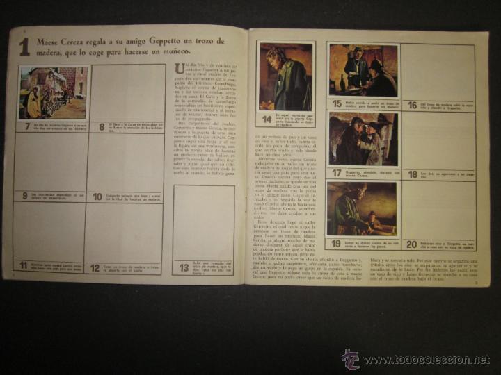 Coleccionismo Álbumes: LAS AVENTURAS DE PINOCHO - EDICIONES VULCANO - ALBUM INCOMPLETO - (ALB-174) - Foto 3 - 46607247