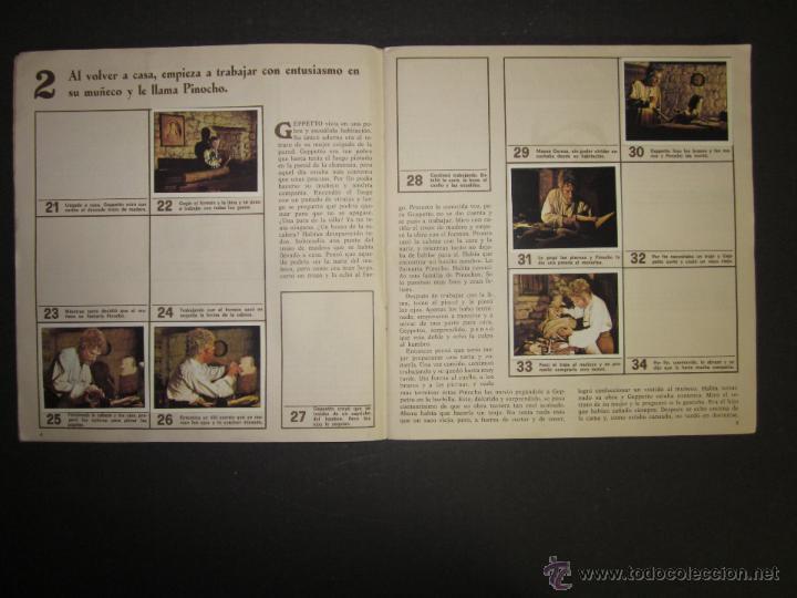 Coleccionismo Álbumes: LAS AVENTURAS DE PINOCHO - EDICIONES VULCANO - ALBUM INCOMPLETO - (ALB-174) - Foto 4 - 46607247