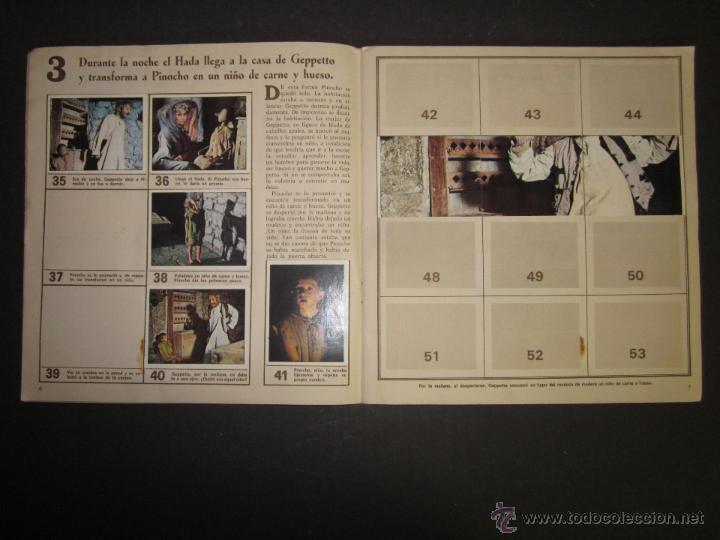 Coleccionismo Álbumes: LAS AVENTURAS DE PINOCHO - EDICIONES VULCANO - ALBUM INCOMPLETO - (ALB-174) - Foto 5 - 46607247