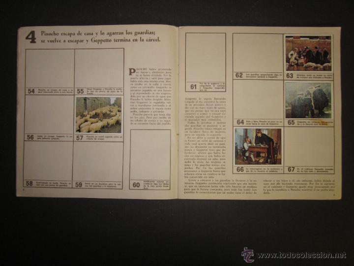 Coleccionismo Álbumes: LAS AVENTURAS DE PINOCHO - EDICIONES VULCANO - ALBUM INCOMPLETO - (ALB-174) - Foto 6 - 46607247