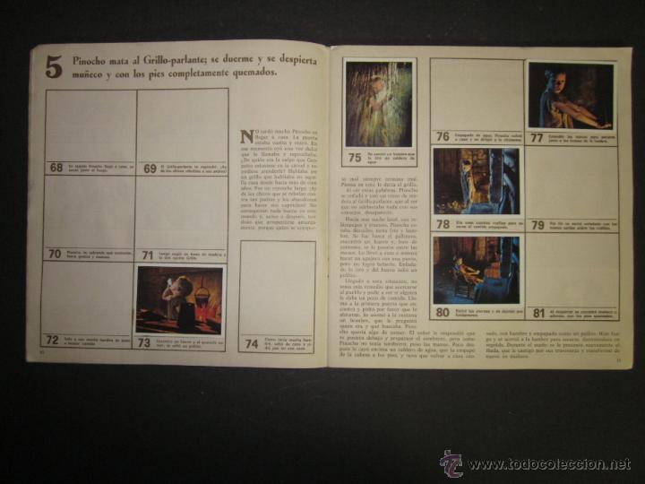 Coleccionismo Álbumes: LAS AVENTURAS DE PINOCHO - EDICIONES VULCANO - ALBUM INCOMPLETO - (ALB-174) - Foto 7 - 46607247