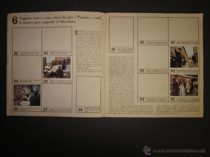 Coleccionismo Álbumes: LAS AVENTURAS DE PINOCHO - EDICIONES VULCANO - ALBUM INCOMPLETO - (ALB-174) - Foto 8 - 46607247