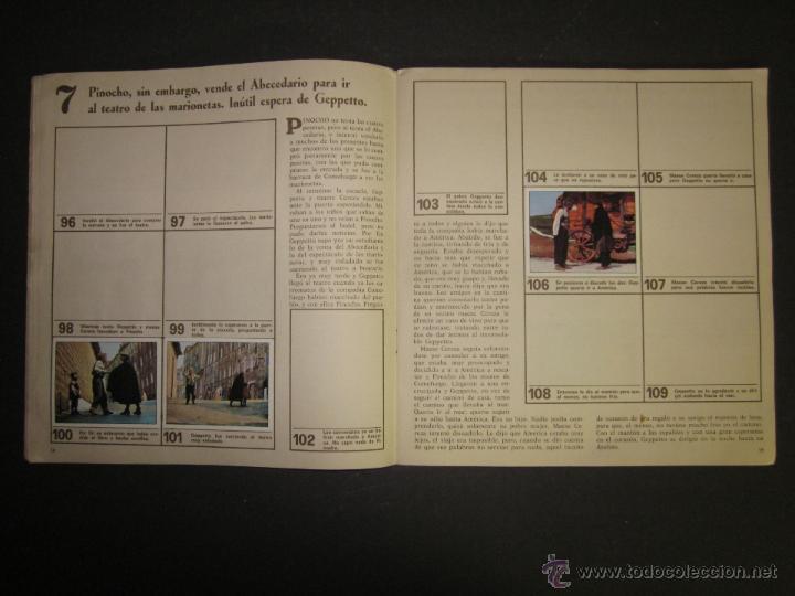 Coleccionismo Álbumes: LAS AVENTURAS DE PINOCHO - EDICIONES VULCANO - ALBUM INCOMPLETO - (ALB-174) - Foto 9 - 46607247